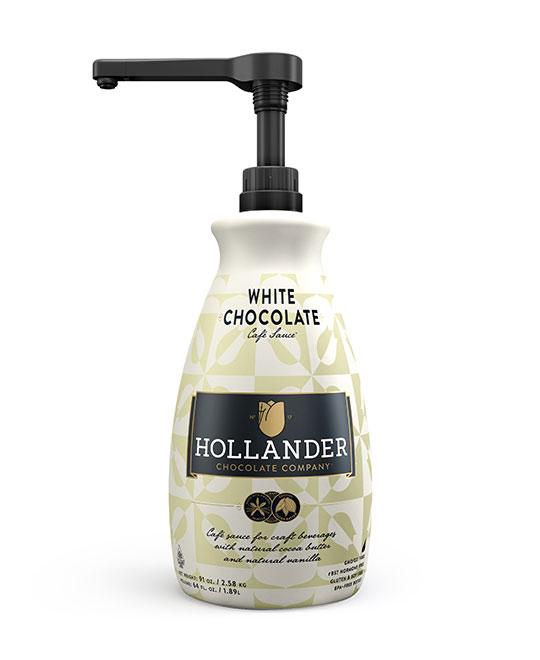 سائل الشوكولاته البيضاء